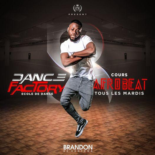 Nouvelle collaboration - Ecole Dance Factory - Brandon de Santana